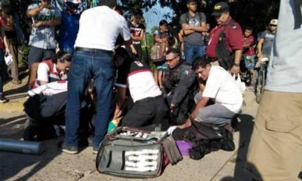 Niño de 2 años salió de su casa y es atropellado