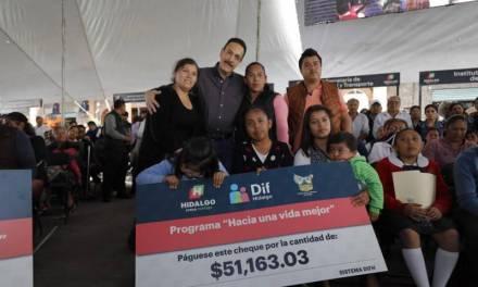 Villa de Tezontepec, uno de los municipios más beneficiados con inversiones: OFM
