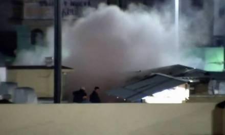 Flamazo en restaurante de Tula dejó dos personas lesionadas