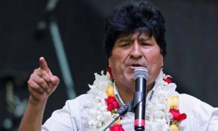 Evo Morales viaja a cuba por tratamiento médico