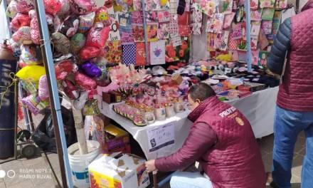 Odeco verifica establecimientos por festejos del Día de San Valentín
