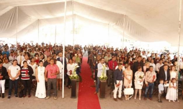 200 parejas se casan en Tizayuca