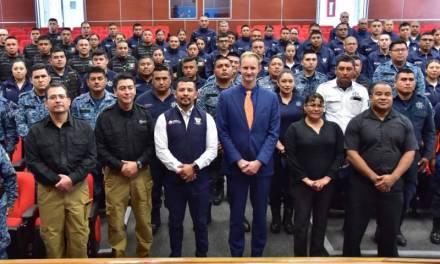 Capacitan a agentes municipales para facilitar certificación policial