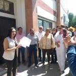 Por falta de convocatoria para selección de candidatos, protesta Selene Olvera