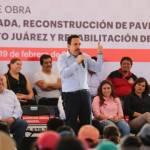 Inauguran infraestructura vial y rehabilitación del mercado municipal de Mixquiahuala