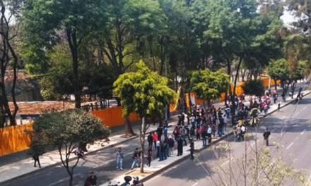 Encapuchados toman instalaciones del CCH Azcapotzalco