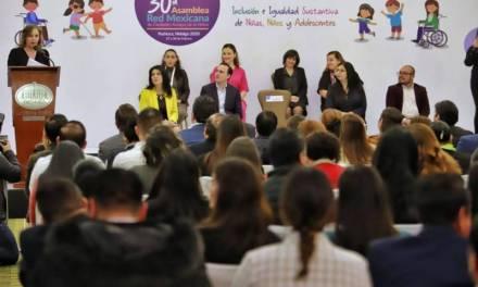 Para promover los derechos de infantes, realizan Asamblea de Ciudades Amigas de la Niñez