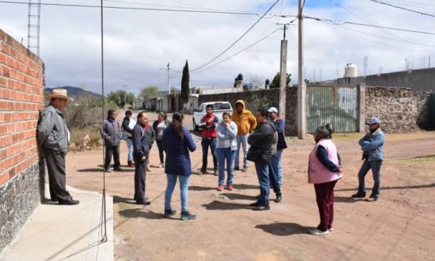 Ejecutan 16 obras en la colonia La Explanada de Santiago Tulantepec