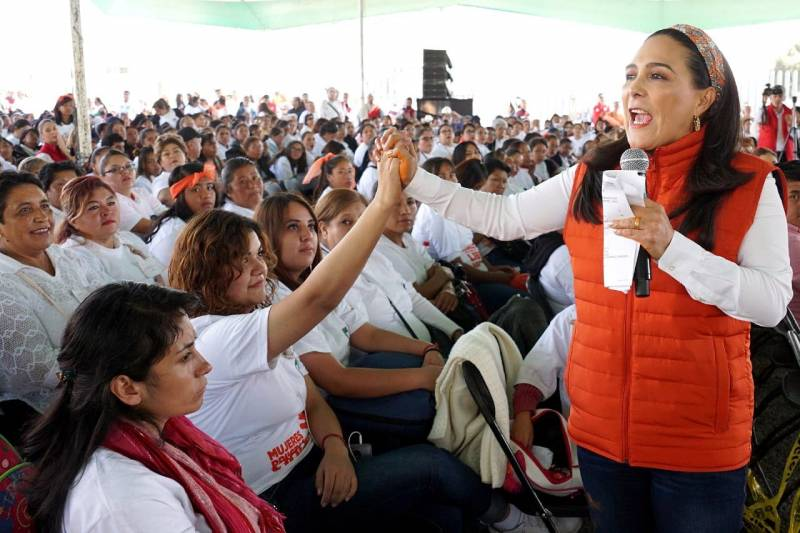 Yo quiero para mí lo que quiero para todas las mujeres, igualdad: Erika Rodríguez