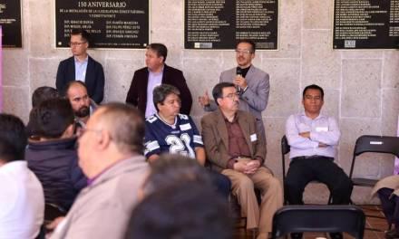 Ofrecieron taller de nuevas masculinidades a trabajadores del Congreso Local en el marco del 9M