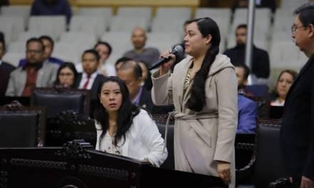 Diputada de Morena, desconoce a su coordinadora en el Congreso Local