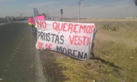 Militantes de MORENA en Tolcayuca se inconforman por registro de aspirantes