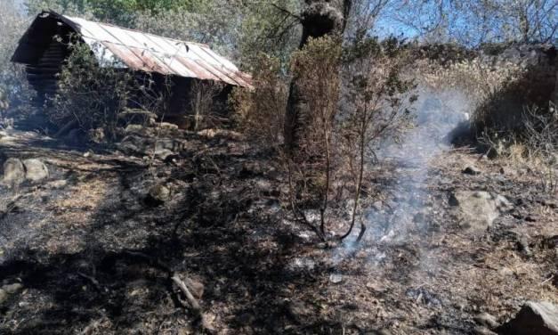 Se registran incendios en el Valle de Tulancingo
