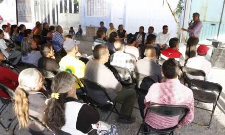 Gabriel García Rojas inicia pavimentación en Circuito Tizayuca en Las Plazas