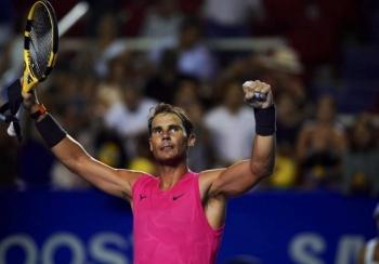 Rafa Nadal gana Abierto Mexicano y deslumbra con juego fantástico