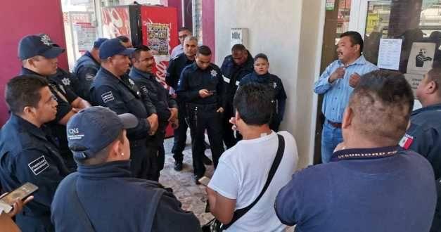 Policías de Tlahuelilpan insatisfechos con sus prestaciones