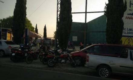 En plena contingencia alcalde de Tlanalapa autoriza torneo de frontón