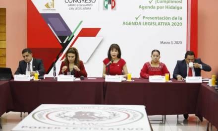 Presentó GLPRI su agenda legislativa