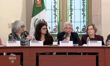 Olga Sánchez pide que manifestaciones feministas sean pacíficas