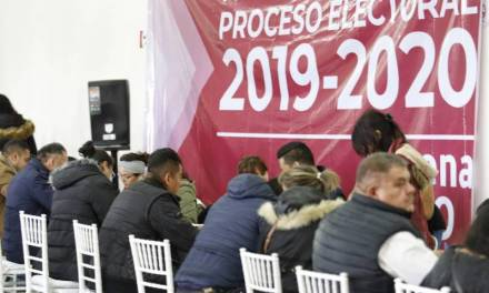 Rechazan militantes candidatura de Diana Ramírezpor Mineral de la Reforma