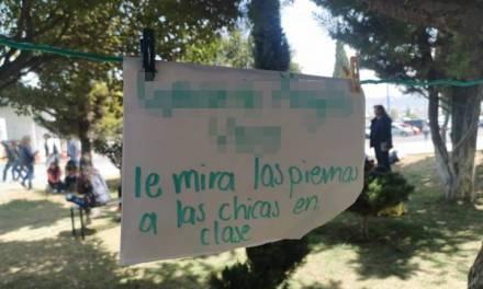 Estudiantes de la UAEH exhiben acoso y hostigamiento sexual de profesores hacia alumnas