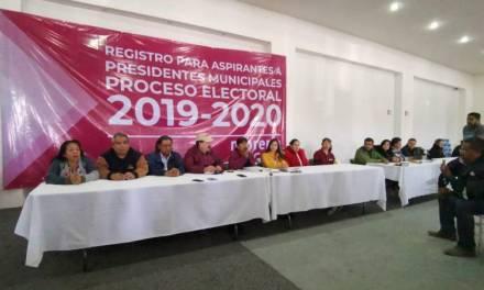 Por Morena, 10 quieren ser candidatos a la alcaldía de Pachuca