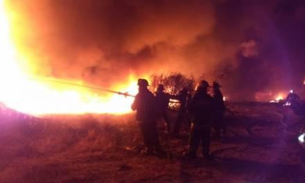 En este año van 4 incendios en la zona metropolitana de Pachuca