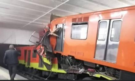Un muerto y 41 heridos deja choque de trenes en el metro de la CDMX