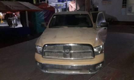Frustra Policía Municipal de Tezontepec de Aldama robo de cajero