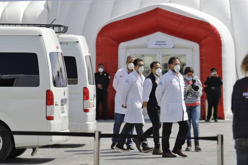 Van más de 6 mil personas fallecidas por Covid en Hidalgo