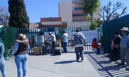 Empleados del IMSS Hidalgo exigen  materiales e insumos básicos para enfrentar pandemia