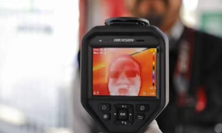 Operan en Pachuca cámaras termográficas para detección de fiebre en ciudadanos