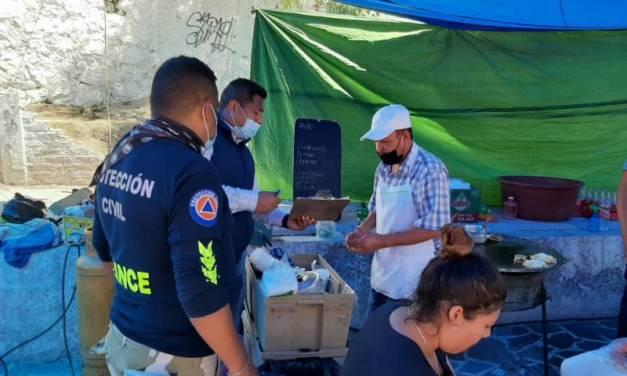 Comercios formales e informales de Tolcayuca reciben asesoría para prevenir COVID-19