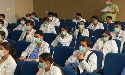 SSH sigue protocolos nacionales para el cuidado de estudiantes de la salud