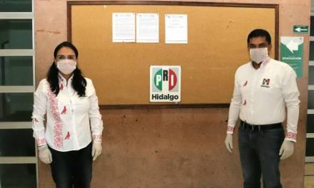 Respalda PRI Hidalgo suspensión de elecciones