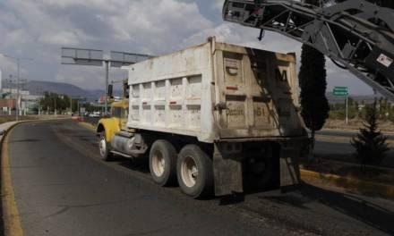 Continúa con el programa de Conservación de la Red Carretera Estatal