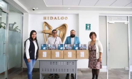 La Fundación Tú y Yo Creciendo Juntos entrega al  IMSS en Hidalgo, 30 nebulizadores para pacientes con COVID-19