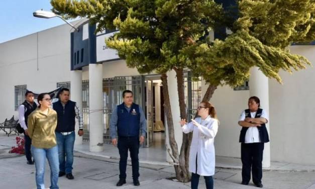 Supervisan Centro de Salud de Zapotlán de Juárez