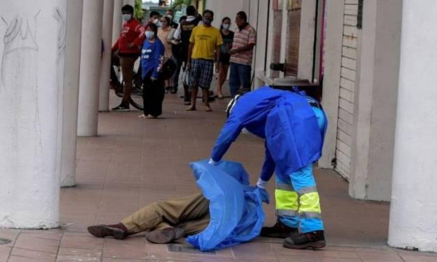 Hay caos en Ecuador por el coronavirus