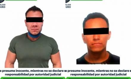 Previene SSPH delitos de alto impacto; detiene a dos hombres armados