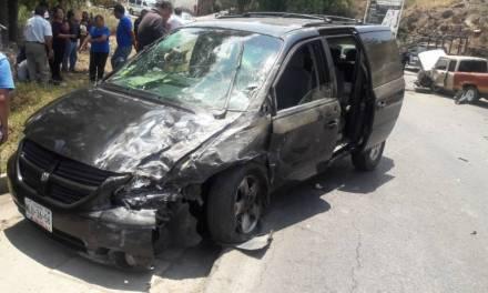 Seis lesionados en accidente en carretera Cuautepec- Tulancingo
