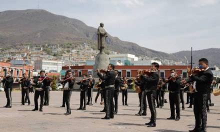 Se manifiestan cantando, mariachis piden apoyo