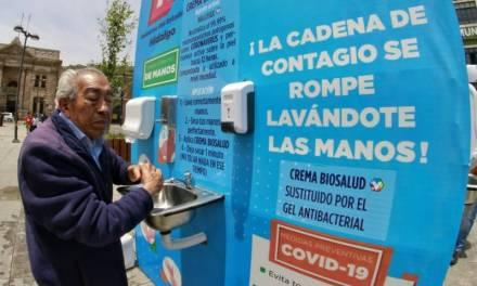 Hidalguenses usan crema antiviral para neutralizar coronavirus