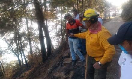 Evalúan daños de incendio Nicolás Flores