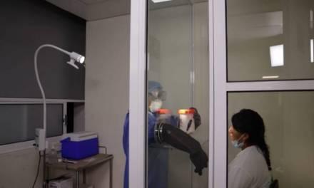 Instalan Módulo de Diagnóstico de COVID-19 en Centro de Salud Jesús del Rosal