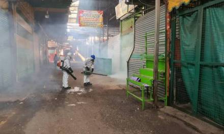 Mantienen acciones de prevención en la Central de Abasto de Pachuca