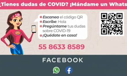 Susana Distancia atenderá dudas por Whats App