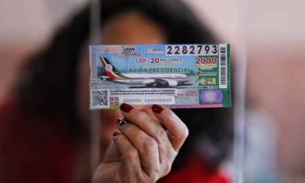 Venta de boletos para rifa del avión, está en pausa en Hidalgo