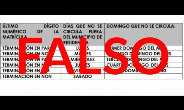 Desmienten presunto Hoy no Circula para Hidalgo