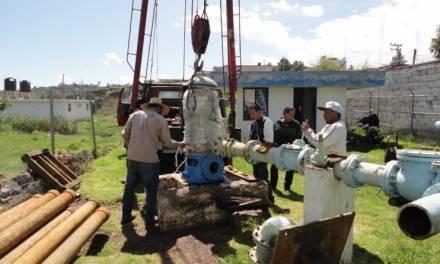Cuautepec trabaja en abasto de agua